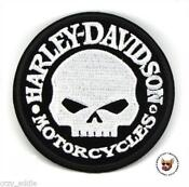 Harley Davidson Willie G Patches