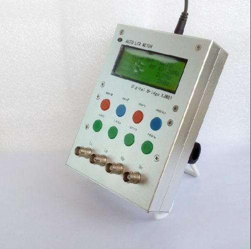 XJW01 Auto LCR Resistance Capacitance Inductance Meter Digital Bridge ESR Tester