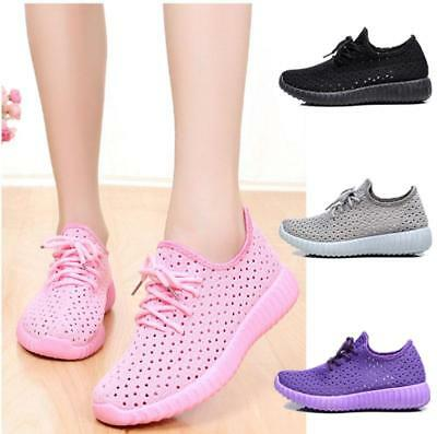 Theshy Fashion Womens Mesh Breathable Sneakers Casual Shoes Student Running Shoes Lightweight Breathable Athletic Tennis Sneakers Black
