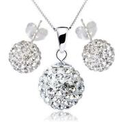 Swarovski Disco Ball Necklace