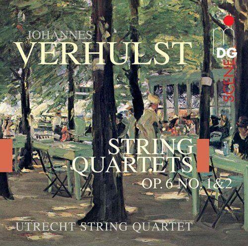 ohannes Verhulst - Verhulst String Quartets Op 6 No 1 and 2 [CD]