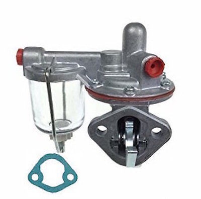 4222452m91 New Fuel Pump For Massey Ferguson- Allis Chalmers 40- 50 Two Hole
