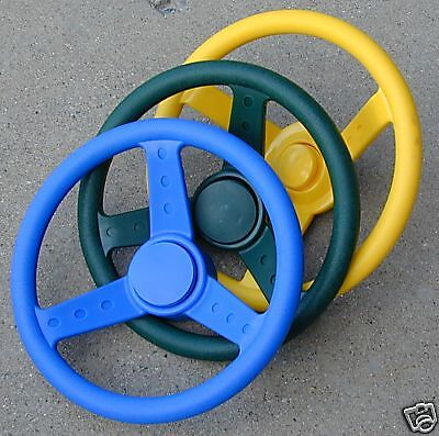 Swingset steering wheel, swingset Accessory,Playset racing wheel,Playground,GYB, used for sale  Shipping to India