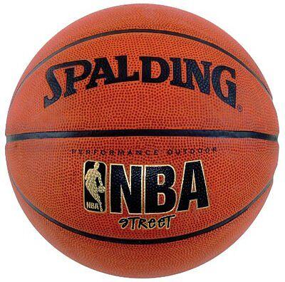 Spalding Nba Street Basketball Official Size 7 29 5  Outdoor Durable Rubber  New