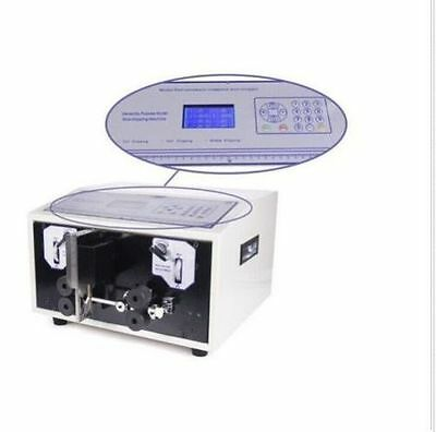 Swt508-e Computer Wire Peeling Striping Cutting Machine Lcd Display 0.1-0.8mm2 B