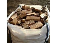 Fire wood and peat fuel