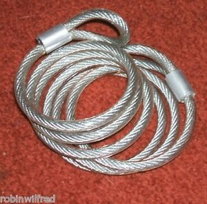 BIKE-FLEXIBLE-LOCK-CABLE-WITH-EYELET-ENDS-4mm-x-1200mm-NEW