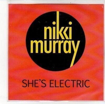 (DK209) Nikci Murray, She's Electric - 2012 DJ CD