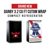 Brand NEW Graphic Wrap Mini Fridges