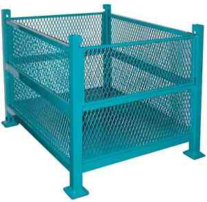 WIRE MESH CONTAINERS, BULK BOXES, STACKING BINS, DUMPING HOPPERS Kitchener / Waterloo Kitchener Area image 6