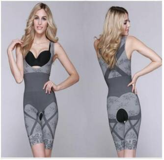 Slim Underwear Bamboo Charcoal Bodysuit; Sexy Shape Body NEW Haymarket Inner Sydney Preview