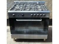 "LARGE GAS COOKER "" BAUMATIC "" 90CM WIDE"