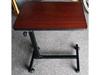 **£15** Mobile Table Under Chair or Bed