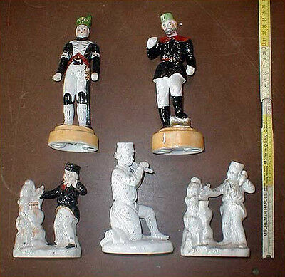 Bergbau Konvolut Porzellan Figuren Figur Bergmann 5 Stück Anja