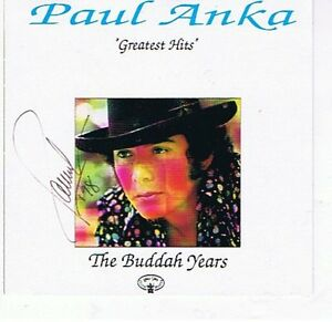 A 14 SONG PAUL ANKA AUTOGRAPHED CD London Ontario image 1