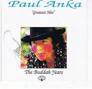 A 14 SONG PAUL ANKA AUTOGRAPHED CD London Ontario image 1