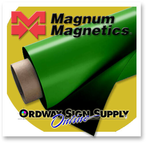 GREEN Magnetic Sheeting 10