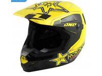 Rockstar Mx helmet size medium!!