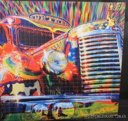 GRATEFUL DEAD FURTHUR BUS BLOTTER ART Merry Pranksters Further Ken Kesey Hippie
