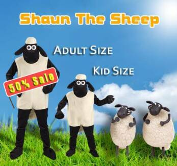 Shaun the Sheep Onesie Costume 100% HIGH QUALITY Sydney City Inner Sydney Preview
