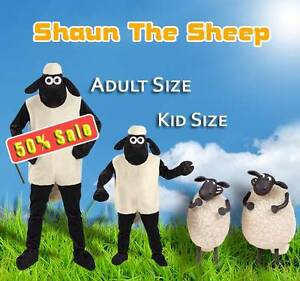 Shaun the Sheep Onesie Brand New coostume North Melbourne Melbourne City Preview