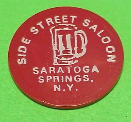 SARATOGA SPRINGS  NEW YORK  NY  SIDE STREET SALOON /  G/F ONE DRINK TRADE TOK