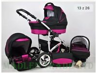 Pram 3in1 used only 5 months