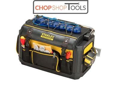 Stanley Fatmax Plastic Fabric Tote Toolbag Tool Bag 20 inch With Cover STA179213