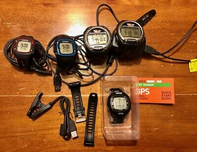 Timex and Garmin GPS and Forerunner watch lot