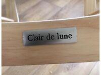 Clair de Lune Moses basket