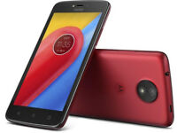 Moto C (XT 1754) 1+16 GB Mobile Phone. Unlocked and as new in Metalic Cherry..