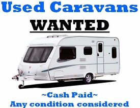 Any touring caravan needed asap any condition any age