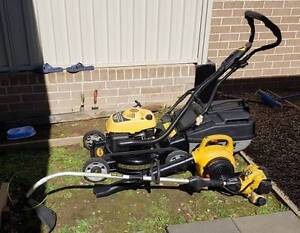 mower whipper snipper blower package Middleton Grange Liverpool Area Preview