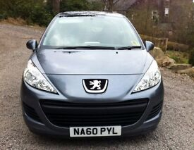 PEUGEOT 207. Immaculate condition. Low mileage. MOT until April 2018. Full service history.