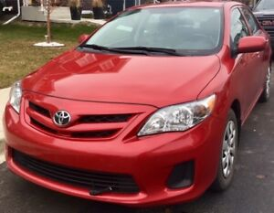 TOYOTA COROLLA 2013 in excellent condition. PRICE NEGOTIABLE!!!