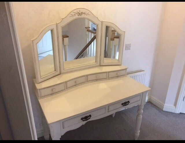 Dressing table and mirror - Barker and Stonehouse