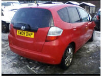 Honda jazz breaking for spares
