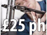 Leeds Plumber - £25 per hour