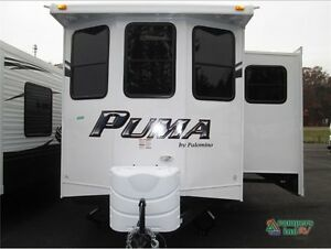 2015 Puma Park Model at Pine Cone Camping with Roof/Deck.