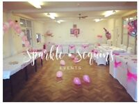 Sparkle & Sequins Events a glamorous touch to meet any budget!
