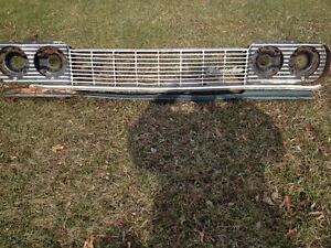 1964 chev grille assembly