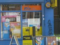 Shop to Let on a Busy Main Road