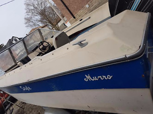 19 foot Bowrider boat, motor and trailor