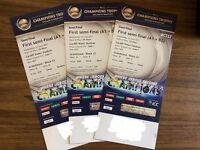 ICC Champions Trophy Tickets - Semi Final Cardiff - ENG (A1) VS TBC (B2)