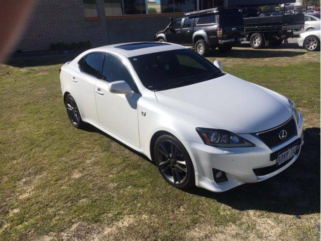2011 Lexus IS250 F Sport **12 MONTH WARRANTY** West Perth Perth City