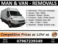 Direct Van Man Removals/Man and van (Original UK)
