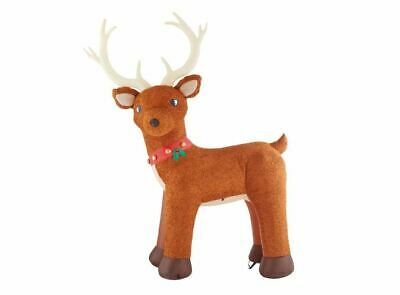 10.5 Ft Reindeer Giant Sized LED Gemmy Christmas Inflatable