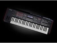 Yamaha MOXF6 Music Production Workstation, and Case