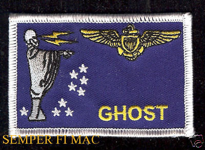 VMFA-531 Grey Ghosts US MARINES FLIGHT SUIT PATCH PILOT AIRCREW NAME SKULL USMC Marine Flight Suit Patches