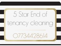 End of tenancy cleaning specialist